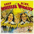 "Movie Posters:Comedy, Cockeyed Cavaliers (RKO, 1934). Six Sheet (81"" X 81""). ..."