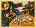 "Movie Posters:Adventure, Jungle Book (United Artists, 1942). Title Lobby Card and LobbyCards (3) (11"" X 14""). ... (Total: 4 Items)"