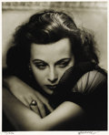 "Movie Posters:Miscellaneous, Hedy Lamarr/George Hurrell Studio Portrait (United Artists, 1938).Still (16"" X 20)...."