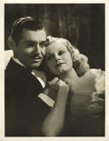 "Movie Posters:Drama, Hollywood Vintage Still - Clark Gable and Jean Harlow in ""Wife vs.Secretary"" by Clarence Sinclair Bull (MGM, 1936). Still (..."