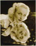 "Movie Posters:Miscellaneous, Hollywood Vintage Still - Carole Lombard by Otto Dyar (Paramount,1940s). Still (10.5"" X 13""). ..."