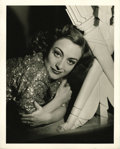 "Movie Posters:Miscellaneous, Hollywood Vintage Still - Joan Crawford by George Hurrell (MGM,Circa 1936). Still (8"" X 10""). ..."