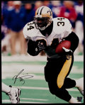 Football Collectibles:Photos, Ricky Williams Signed Oversized Photograph....