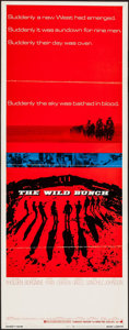 "Movie Posters:Western, The Wild Bunch (Warner Brothers, 1969). Insert (14"" X 36"") &Uncut Pressbook (32 Pages, 11"" X 17""). Western.. ... (Total: 2Items)"