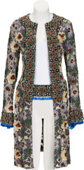 Music Memorabilia:Costumes, Whitney Houston Stage Worn Dolce & Gabbana Coat And Belt, 1999.... (Total: 2 Items)