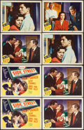 "Movie Posters:Film Noir, Side Street (MGM, 1950). Title Lobby Cards (2) Identical & Lobby Cards (11) (11"" X 14""). Film Noir.. ... (Total: 13 Items)"
