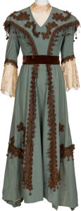 "Movie/TV Memorabilia:Costumes, A Marjorie Main Worn Victorian Costume from ""Heaven Can Wait.""..."