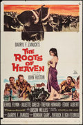 "Movie Posters:Adventure, The Roots of Heaven & Other Lot (20th Century Fox, 1958). OneSheets (2) (27"" X 41""). Adventure.. ... (Total: 2 Items)"