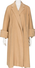 Movie/TV Memorabilia:Costumes, A Mae West Wool Coat, Circa 1960s....