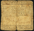 Colonial Notes:Maryland, Maryland August 14, 1776 $1/6 Very Good.. ...