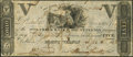 Obsoletes By State:Ohio, Mount Vernon, OH- Owl Creek Bank of Mount Vernon $5 Sep. 5, 1816...