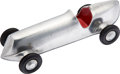 Miscellaneous Collectibles:General, Miniature Duesenberg Style Racing Car - Polished Aluminum....
