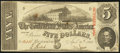 Confederate Notes, T60 $5 1863 PF-1 Cr. 448.. ...