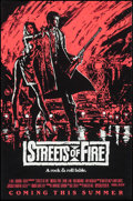 "Movie Posters:Action, Streets of Fire (Universal, 1984). One Sheets (5) (27"" X 40"") 4Color Advance Styles & Regular Style. Action.. ... (Total: 5Items)"
