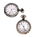Timepieces:Pocket (post 1900), South Bend & Illinois 18 Size Pocket Watches. ... (Total: 2 Items)