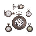 Timepieces:Other , Six Miscellaneous Watches. ... (Total: 6 Items)