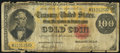 Large Size:Gold Certificates, Fr. 1214 $100 1882 Gold Certificate Good-Very Good.. ...