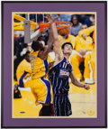 Basketball Collectibles:Photos, Kobe Bryant Signed Oversized Photograph - UDA....