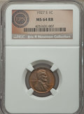 Lincoln Cents, 1927-S 1C MS64 Red and Brown NGC. Ex: Eric P. Newton Collection. NGC Census: (65/14). PCGS Population: (215/9). CDN: $365 W...