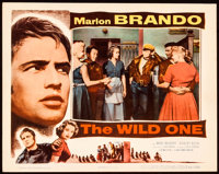 "The Wild One (Columbia, 1953). Lobby Card (11"" X 14""). Exploitation"