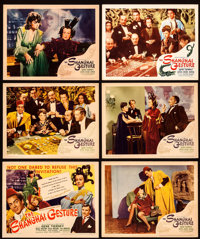 The Shanghai Gesture (United Artists, 1942). Title Lobby Card & Lobby Cards (4) & Reissue Lobby Cards (2...