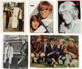 Music Memorabilia:Autographs and Signed Items, Group Of Rock Autographs Including Klaus Voorman, Manfred Mann,Sandie Shaw And Easy Beats (circa late 1960s)....