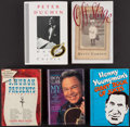 Miscellaneous Collectibles:General, Music Notables Signed Books Lot of 5....