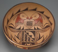 American Indian Art:Pottery, A Hopi Polychrome Bowl. c. 1980...