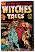 Golden Age (1938-1955):Horror, Witches Tales #14 (Harvey, 1952) Condition: VF-....