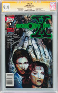 Modern Age (1980-Present):Science Fiction, The X-Files #1 Signature Series (Topps Comics, 1995) CGC NM 9.4White pages....
