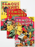 Golden Age (1938-1955):Miscellaneous, Famous Funnies #205-208 Group (Eastern Color, 1953) Condition: Average VF/NM.... (Total: 4 Comic Books)