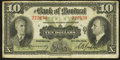Canadian Currency: , Montreal, PQ- Bank of Montreal $10 Jan. 3, 1938 Ch. # 505-62-04. ...