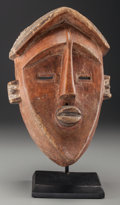 Tribal Art, LWALWA, Angola, Democratic Republic of the Congo. Male Mask...(Total: 2 Items)