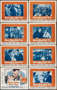 """Smart Girls Don't Talk & Others Lot (Warner Brothers, 1948). Lobby Card Set of 8 (11"""" X 14"""") One Sheets (2..."""