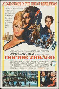 """Doctor Zhivago (MGM, 1965). One Sheet (27"""" X 41"""") & Pressbook (24 Pages, 14"""" X 19"""") Academy Awar..."""