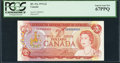 Canadian Currency: , BC-47a $2 1974 with Low Serial Number UA0000031. ...