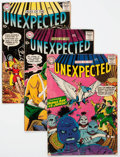 Silver Age (1956-1969):Horror, Tales of the Unexpected Group of 7 (DC, 1958-61).... (Total: 7Comic Books)