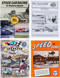Miscellaneous Collectibles:General, 1940's-2000's Daytona Beach Racing Documents and Newsletters Lot of50+....
