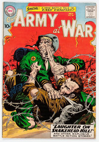 Our Army at War #84 (DC, 1959) Condition: VG/FN
