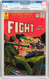 Fight The Enemy #2 (Tower, 1966) CGC NM+ 9.6 White pages