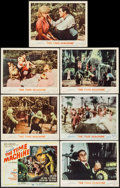 """Movie Posters:Science Fiction, The Time Machine (MGM, 1960). Title Lobby Card & Lobby Cards(6) (11"""" X 14""""). Science Fiction.. ... (Total: 7 Items)"""