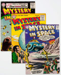 Silver Age (1956-1969):Science Fiction, Mystery in Space Group of 9 (DC, 1952-60).... (Total: 9 ComicBooks)