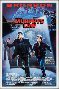 "Murphy's Law & Others Lot (Cannon, 1986). One Sheets (3) (27"" X 41""). Thriller. ... (Total: 3 Items)"