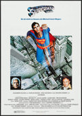 """Movie Posters:Action, Superman the Movie (Warner Brothers, 1978). German A1 (23.25"""" X 33""""). Action.. ..."""