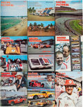 Miscellaneous Collectibles:General, 1964-80 Racing Pictorial Magazines Lot of 35....