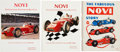 Miscellaneous Collectibles:General, 1964-91 NOVI Race Cars Books Lot of 3....