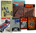 Miscellaneous Collectibles:General, 1966-87 Indianapolis Motor Speedway Themed Books Lot of 7. ...