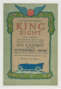 Miscellaneous Collectibles:General, 1915 King Eight New York City Advertising Poster....