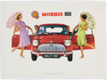 Miscellaneous Collectibles:General, 1960's Morris Mini 850 Advertising Poster....