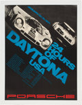 Miscellaneous Collectibles:General, 1971 24 Hours of Daytona Poster....